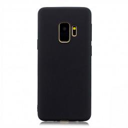 Slim Flexible Soft Rubber TPU Shockproof Case Back Cover for Samsung S9 - Black