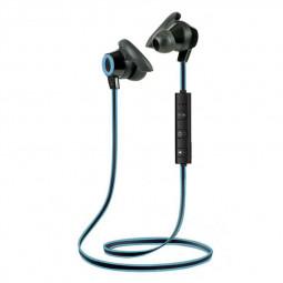 Bluetooth 4.1 Wireless Headphone Stereo Sports Earbuds In-Ear Headset Earphone - Black+Blue