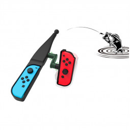 Fishing Rod Pole Handle Joypad Stand Holder for Nintend Switch Joy-con