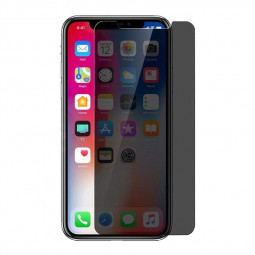 2.5D Curved Edges Privacy Tempered Glass Screen Protector Film for iPhone XR/iPhone 11