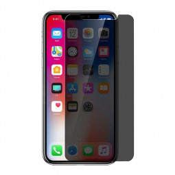 Privacy Screen Protector Super Clear Anti-Spy 9H Hardness Tempered Glass Film for iPhone X/XS/11 Pro