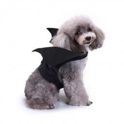 Batman Costume Pet Dog Cat Cosplay Clothes Halloween Fancy Dress Size S
