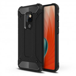 Rugged Armor Phone Cover Cellphone Case for Huawei Mate 20 - Black