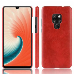 Business Matte Grainy Texture Hard PC Case Back Cover for Huawei Mate 20X - Red