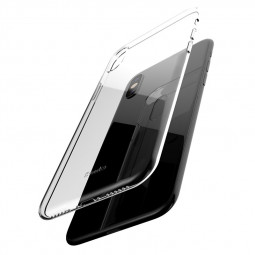 Ultra Slim Thin Transparent PC Case Clear Hard Phone Case Cover for iPhone XS MAX