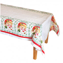Disposable Christmas Themed Table Cloths Xmas Party Table Cover Home Decoration - Christmas 8