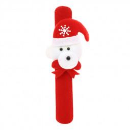 1pcs Christmas Decorations Patting Circle Wristband Accessories Costume New Year Decor - Bear