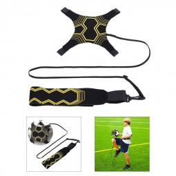Football Self Training Kicking Practice Trainer Aid Equipment Soccer Waist Belt Returner
