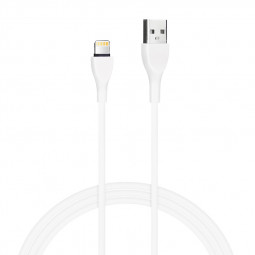 8pin Charging Cable USB Sync Data Cable for iPhone Cellphone Mini Air Pro iPod Touch - White