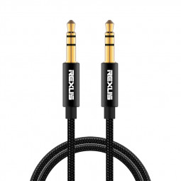 Male to Male Jack Audio Cable 3.5mm Aux Cable for Car Phone Tablet PC Mp3 Headphone Soundbox - 1M