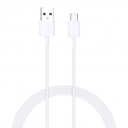 1M TPE USB 3.1 Type C Charging Cable for Samsung S8/S9 Android Devices - White