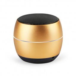 400 mAh Portable Metal Mini Wireless Bluetooth Speaker Hifi Sound Bluetooth 4.2 - Gold