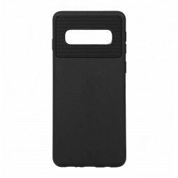 Ultra Thin TPU Soft Back Cover Phone Case Protective Case for Samsung Galaxy S10 - Black