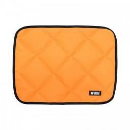 Safe Summer Cooler Dog Beds Mats Pet Ice Pad Waterproof Keep Cool Cold Silk Bite-Resistant Cushion Orange - XL