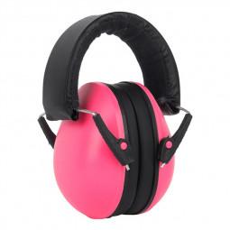 Baby Child Adjustable Foldable Earmuff Noise Reduction Sleep Hearing Protection Earmuff - Pink