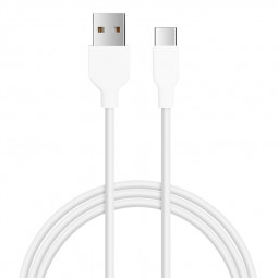 1m Type C USB 3.1 Charger Cable Charging Line for Android Type C Devices - White