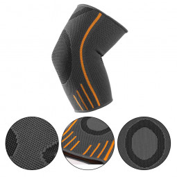 Elbow Support Keep Safety Golfers Elbow Arthritis Pain Brace Pad Strap Gym Grey - S