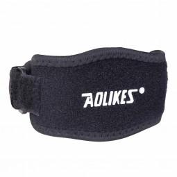 Sport Elbow Support Brace Strap Orthosis Compression Band Pad Golfers Epicondylitis Arthritis - Black&Red