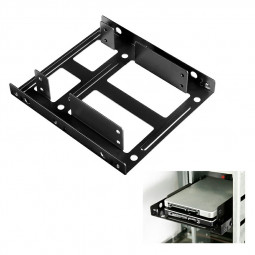 SSD HDD Metal Mounting Bracket Adapter Hard Drive Holder 2.5 to 3.5 Hard Drive Bay Caddy