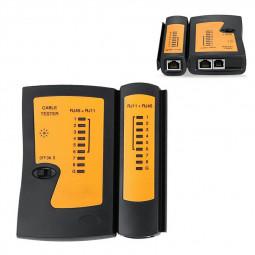 RJ45 RJ11 CAT5 CAT6 Network LAN Telephone Cable Tester Testing Tool