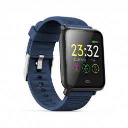 Q9 Smart Watch Sport Bracelet IPS Calories Heart Rate Sleep Monitor Blood Pressure Fitness Tracker - Blue