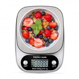 C305 Digital Food Scale Multifunction Electronic Kitchen Weight Scale Accurate 3000g/0.1g