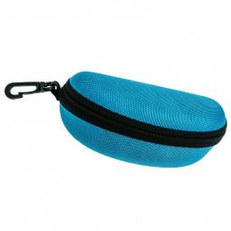 Sunglasses Reading Glasses Carry Case EVA Bag Hard Zipper Box Travel Pack Pouch - Sky Blue