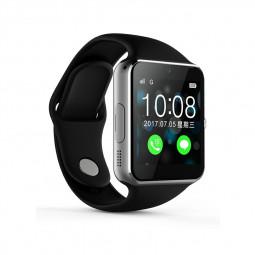 Q7SP Smart Watch Sport Bracelet Fitness Tracker IPS Calories Sleep Monitor Call Reminder Wrist Band - Black+Silver