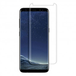 Phone Narrow Edge Screen Protector Film Tempered Glass Screen Protective Film for Samsung Galaxy S8 - Transparent