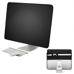 Home Computer Desktop Dust Cover Applicable with Pocket for Apple iMac 27 inch