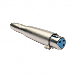 Zinc Alloy 6.35mm XLR Adaptor Female to Female Transfer Audio XLR Adapter