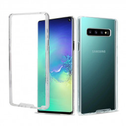 Soft TPU Clear Full Body Slim Phone Case Transparent Back Cover for Samsung Galaxy S10