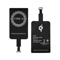 Type C Charging Receiver Patch Qi Wireless Charger Module Pad for USB C Cell Phone