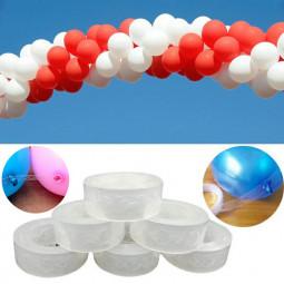 5m Length Unique Balloon Arch Decor Strip Connecting Chain Plastic DIY Tape Party Decoration