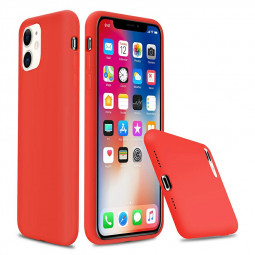 Ultra Soft and Slim Phone Case Cover Silicone Gel Shockproof Cover Case for iPhone 11 - Red