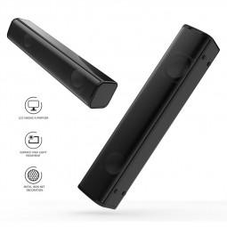 Q2 USB Wired Speaker Fashion Strip Mini Small Speaker Subwoofer Stereo Bass Speaker Desktop Laptop Partner