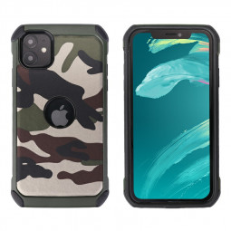 Frosted PC Hard Cases Phone Shell Matte Covers Back Cover Anti-fingerprint Cellphone Case for iPhone 11 - Green