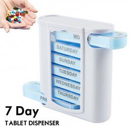 7 Day a Week Daily Pill Box Organiser Holder Tablet Medicine Storage Dispenser