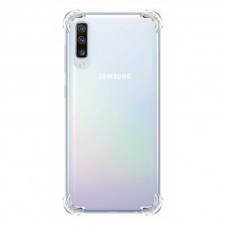 Shockproof Skin Case Soft TPU Silicon Bumper Slim Transparent Phone Back Cover for Samsung Galaxy A70