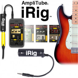 IRIG Guitar Audio Interface Converter Adapter Guitar Tuners Tone for iPhone iPad and iPod Touch