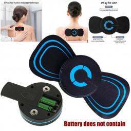 Portable Battery Power Mini Electric Neck Massager Cervical Massage Back Massager Stimulator