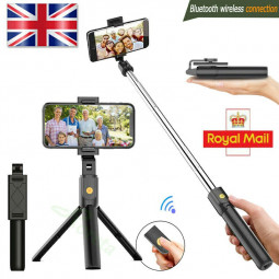Telescopic Selfie Stick Bluetooth Remote Tripod Monopod Phone Holder Live Shooting for iPhone Samsung