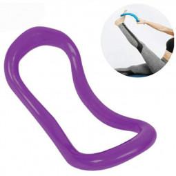 Yoga Ring Pilates Training Rings Fitness Circle Yoga Circle Yoga Stretch Ring - Purple