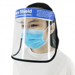 Lightweight Anti-splash Protective Face Mask HD Transparent PVC Face Shield