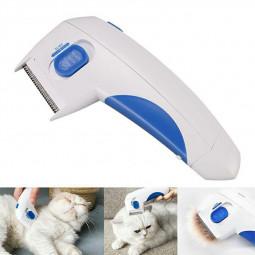 Electric Pet Flea Comb Cat Dog Safe Flea Killer Make Pets Health and Safe