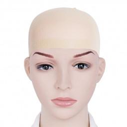 Wig Cap Stretchable Elastic Hair Net Snood Wig Cap Hairnet Hair Mesh - Beige