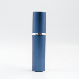 10ml High-grade Anodized Aluminum Cylindrical Spray Bottle Perfume Bottle - Blue
