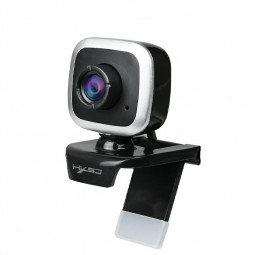 480P High Definition 480P Rotatable Web Camera Built-in Microphone - Silver