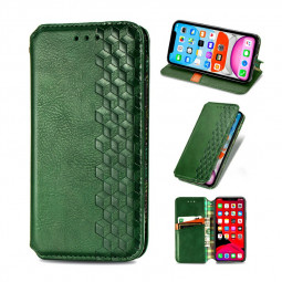 Flip Wallet Case Cover Magnetic PU Leather with Stand for iPhone 11 - Green