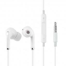 ES-Q10 3.5mm Universal Wired In-ear Earphone - White